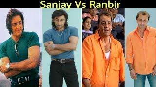 Sanju | Sanjay Dutt VS Ranbir Photo Comparison | Rajkumar Hirani