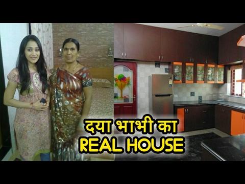 Daya Bhabhi (Disha Vakani) Real House - Taarak Mehta Ka Ooltah Chashmah 2017 sab tv