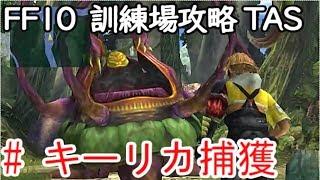 (コメ付き)【TAS】FF10 WIP 【キーリカ捕獲編】