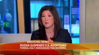 Russians Halt Adoptions by Americans