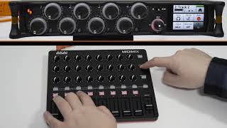 Tiptorial: How to Use the AKAI MIDImix with Your MixPre