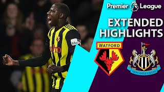 Watford v. Newcastle | PREMIER LEAGUE EXTENDED HIGHLIGHTS | 12/29/18 | NBC Sports