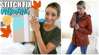 STITCH FIX UNBOXING & TRY ON FALL OUTFITS//OCTOBER 2018