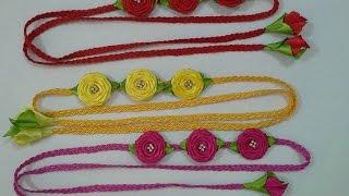 headband com rosas rococ no tranado de soutache sugesto para o carnaval