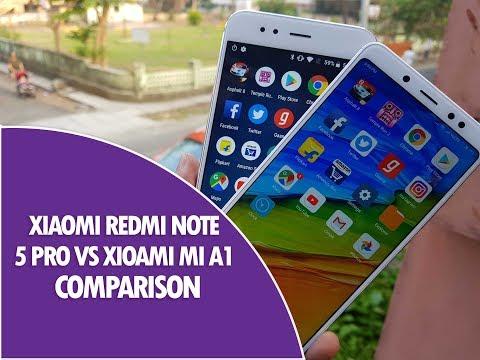 Xiaomi Redmi Note 5 Pro vs Xiaomi Mi A1 Comparison - Which is better to Buy?