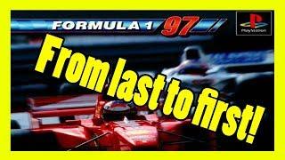 F1 Championship Edition 97 PSX Full HD Gameplay - M. Schumacher (Ferrari) - Monza
