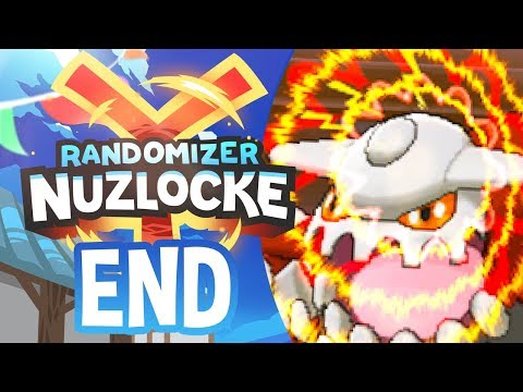 YIKES DID NOT SEE THAT COMING - Pokémon Y Randomizer Nuzlocke FINALE w/ NumbNexus