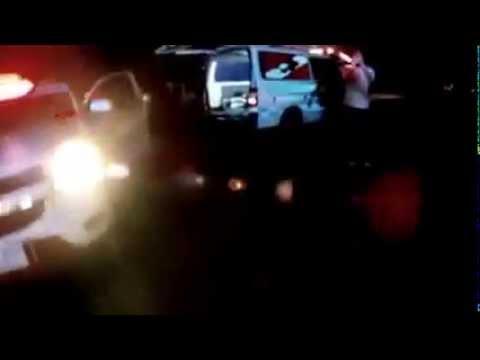 ถยนต์ชนท้ายรถบรรทุกสิบล้อ