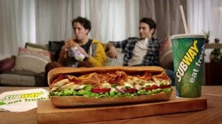 TV Commercial - Subway Chicken & Bacon Ranch Melt - Brother's Peace Offering - Eat Fresh