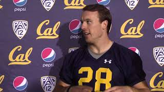 Cal Football Post Practice - RB Pat Laird 11/13/18