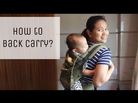 Back Carry in your Tula Free to Grow - Paano ba ito? :)