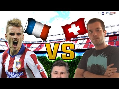 FIFA: Antoine Griezmann vs Psyko17 (France - Suisse)