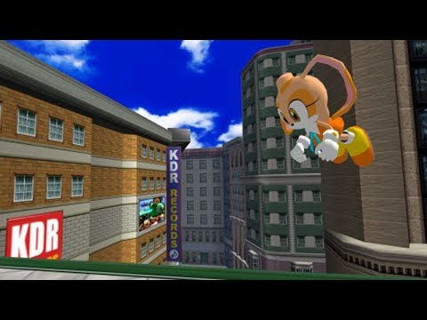 Sonic Adventure DX - All Cream The Rabbit Cameos [1080p HD]