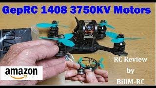 GepRC 1408 3750KV Brushless motors review