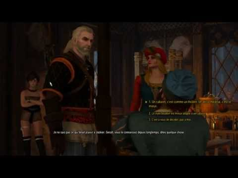 The Witcher 3 sur Pc: le cabaret (Full Ultra / HD)
