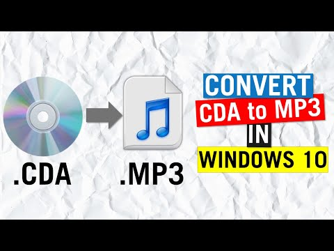 How To Convert CD Audio To MP3 | Quick and Easy
