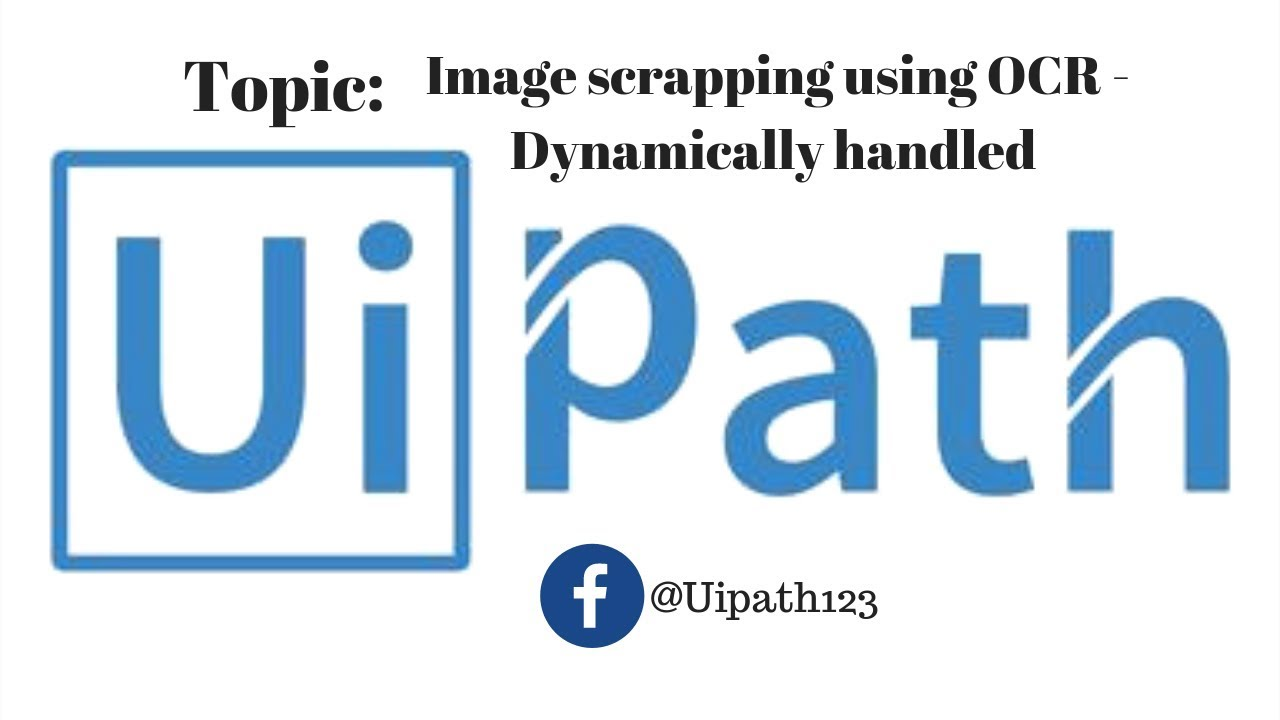 Image Scrapping Using OCR -Dynamically Handled | Get Text OCR