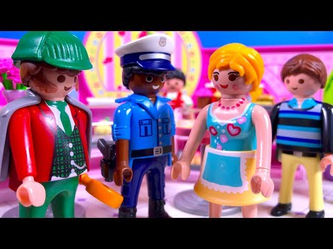 Police Investigate The Playmobil Cupcake Robbery