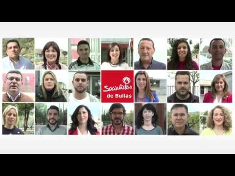 Presentación de la candidatura para el Ayuntamiento de Bullas · 2015
