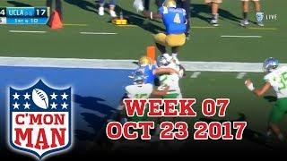 ESPN C'MON MAN! Week 07 - 10-23-17