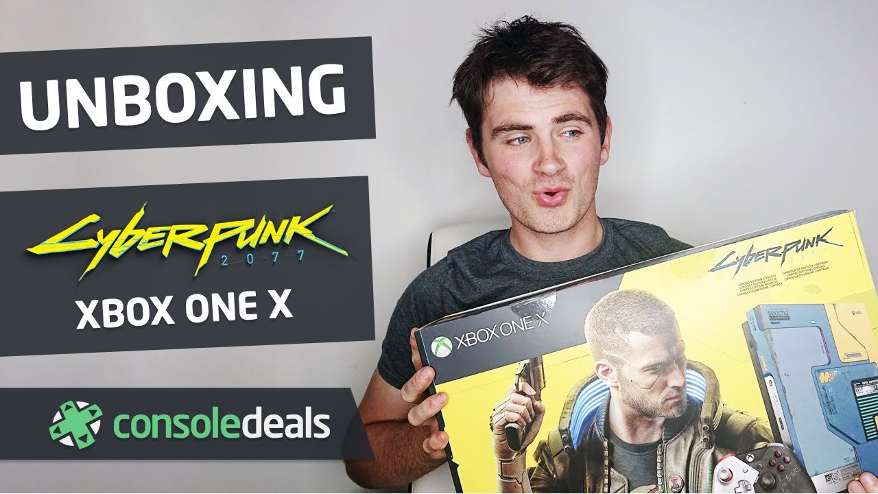Cyberpunk 2077 Limited Edition Xbox One X (Unboxing) | Console Deals