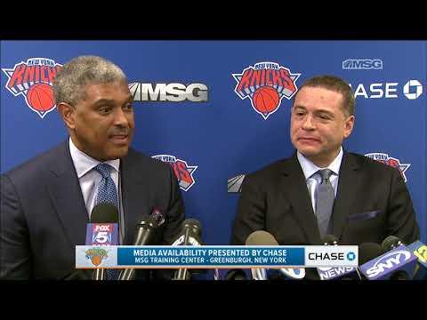 Steve Mills & Scott Perry on Jeff Hornacek   Full Press Conference   New York Knicks   MSG Networks