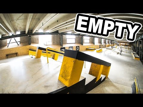 BEST Skatepark in Switzerland and it's empty!