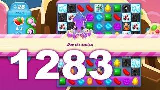 Candy Crush Soda Saga Level 1283 (3 stars, No boosters)