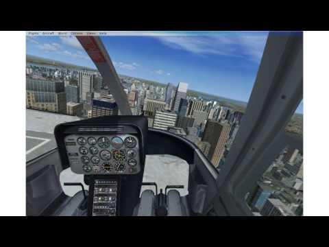 Accuracy Flight Test - FSX SE preinstalled B206 Chris - Part 1 flight dynamics