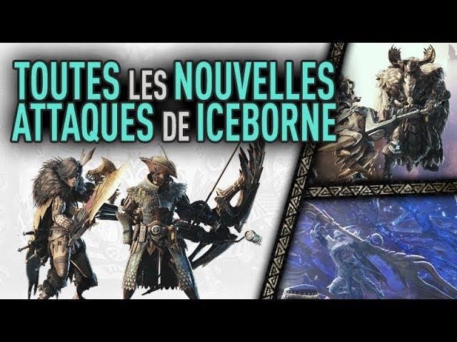 MHW Iceborne - Tous les nouveaux coups de chaque arme [HD]
