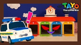 Ghost in Bus Garage l Tayo Super Rescue Team l Tayo the Little Bus