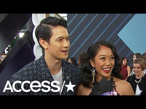 Harry Shum Jr. & His Wife Dish About Their Pregnancy At The People's Choice Awards! | Access