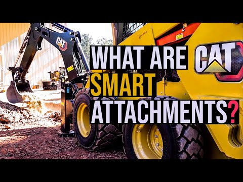 Cat intros Backhoe Smart Attachment on new D3 Skid Steers and CTLs