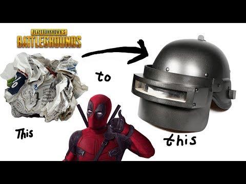 PUBG helmet from paper & cardboard