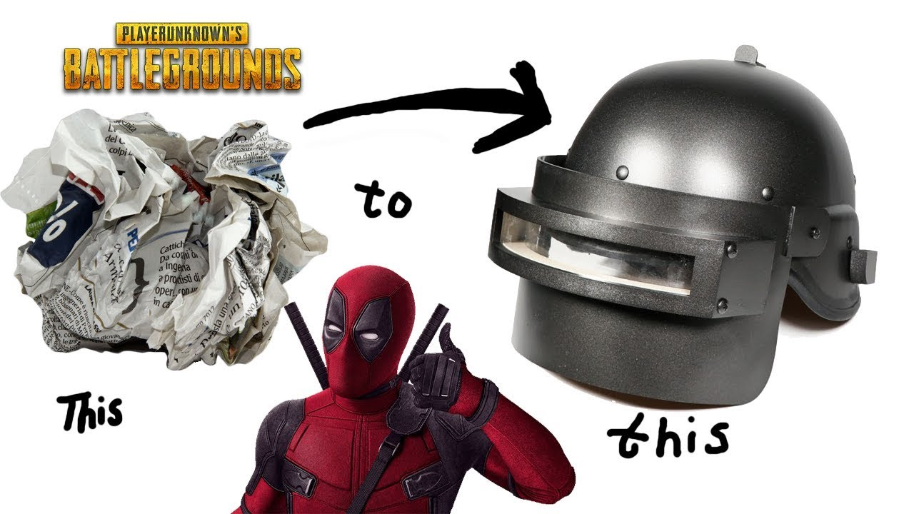 Pubg Helmet: PUBG Helmet From Paper & Cardboard