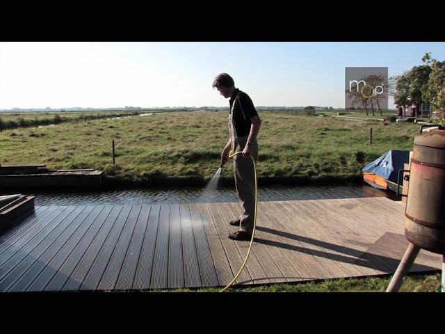 Bambus Terrassendielen  Montage- und Pflegeanleitung (MOSO Bamboo X-Treme)