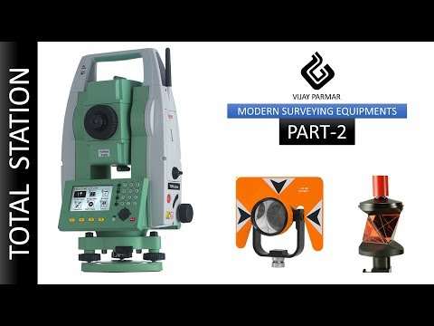 Lecture 30 | MODERN SURVEYING INSTRUMENT - Total Station | PART 2