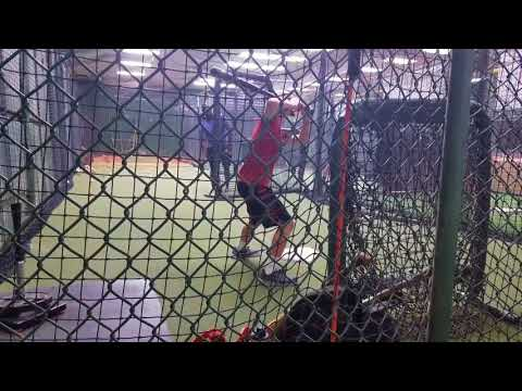 Jeff Carter batting instruction
