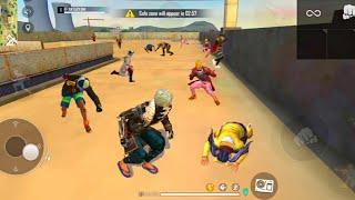 🔥Op fist fight Factory Booyah Gameplay/🔥15 kills Factory roof fist fight/🔥Solo vs duo factory Game