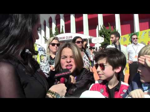 """""""Nicky Ricky Dicky & Dawn"""" Cast Interview - Alexisjoyvipaccess - Nickelodeon Kids"""