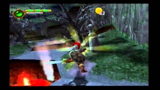 Maximo Ghost To Glory (PS2) The Boneyard, level 1: Grave Danger!! (100% walkthrough Mastered)