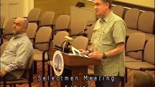 Acton, MA  Board of Selectmen Meeting 5/9/16
