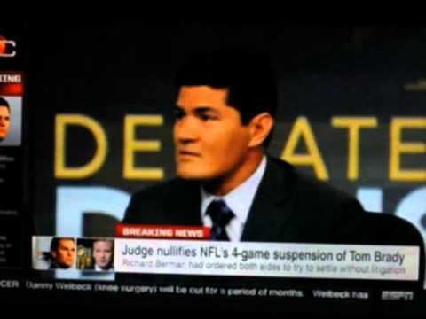 Tedy Bruschi Deflategate Segment on ESPN