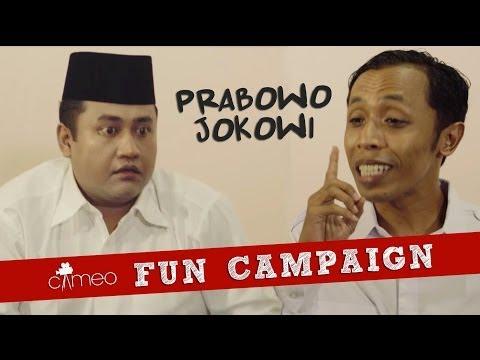 CAMEO Fun Campaign: Prabowo Jokowi