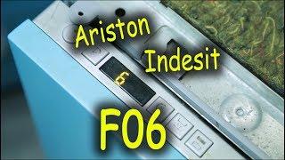 Ta'mirlash dishwashers Ariston Indesit. Xato F06