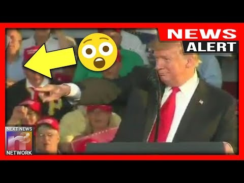 ALERT! AMAZING! Trump Spots Person At Rally, Seconds later Makes His WILDEST Dream Come True!