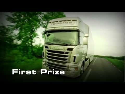 A brand new Scania truck to the YETD 2012 winner!