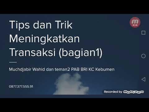 Tips dan Trik Meningkatkan Transaksi BRILink di AgenBRILink Kebumen Indonesia Tips dan Trik