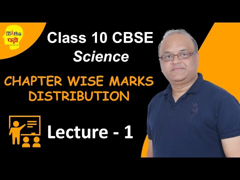 CLASS 10TH (CBSE) : SYLLABUS STRATEGY: LECTURE-1