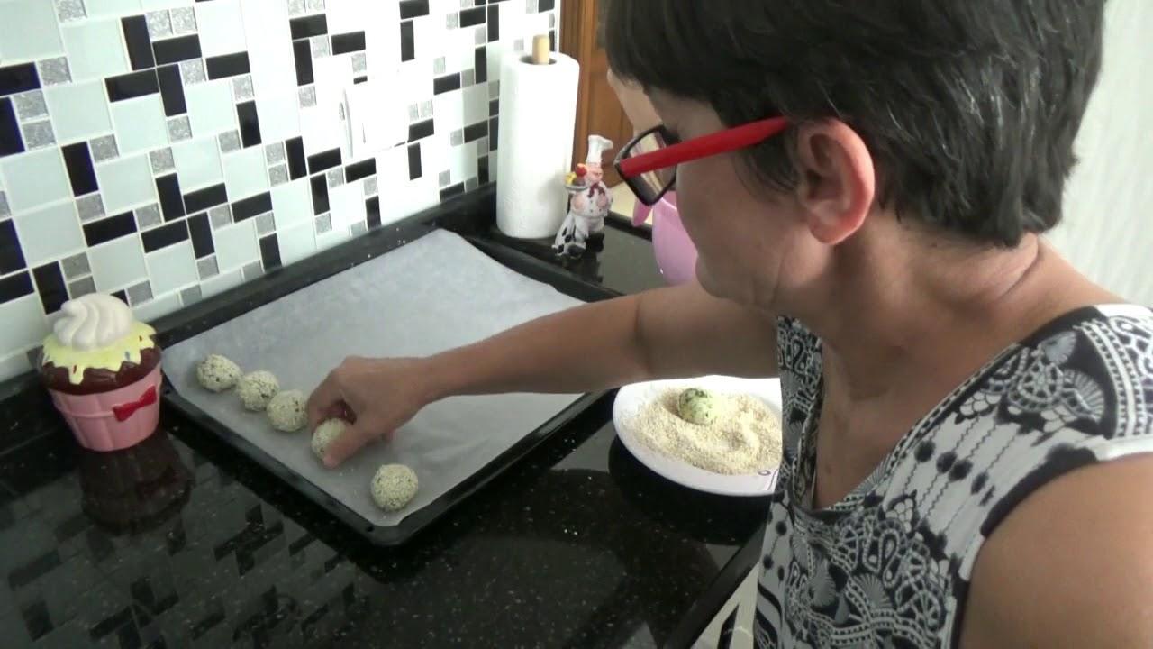 Susamlı Patates Topları Tarifi